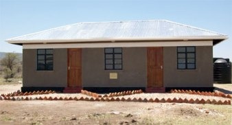 2-in-1 teachers' housing built in 2010 for Sukenya Primary School.