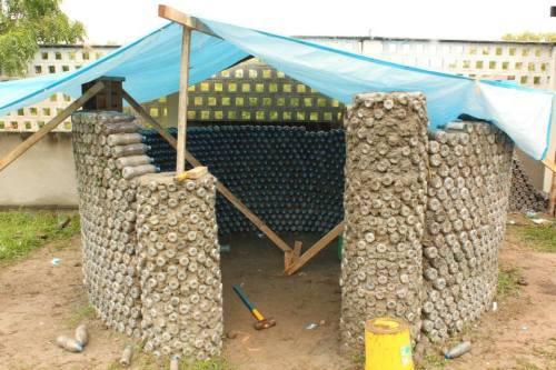 bottle house tanga